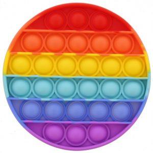 Pop it Circle - Rainbow
