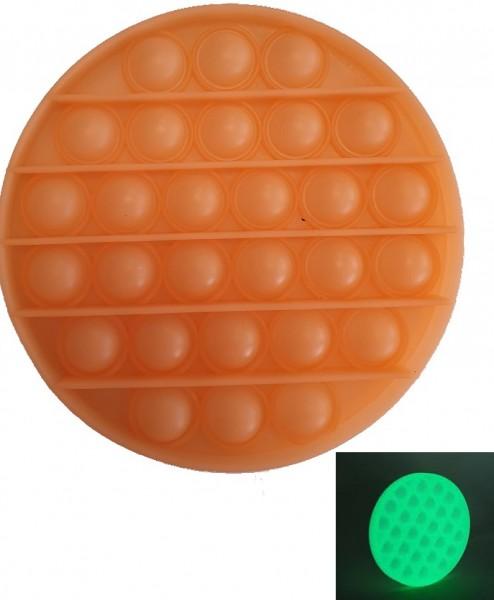 Pop it fidget oranje