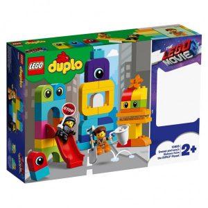 10895 Lego Duplo Visite Voor Emmet & Lucy Van De Duplo Planeet