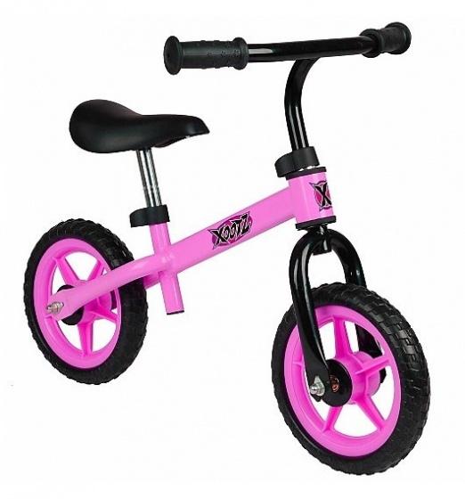 Xootz 2-wiel kinderstep Balance Junior Roze