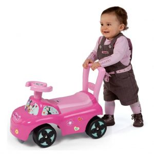 Smoby Loopauto 3-in-1 Minnie roze