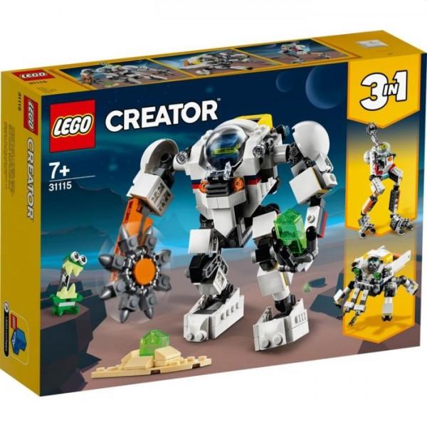 31115 LEGO Creator 3in1 Ruimtemijnbouw-mecha