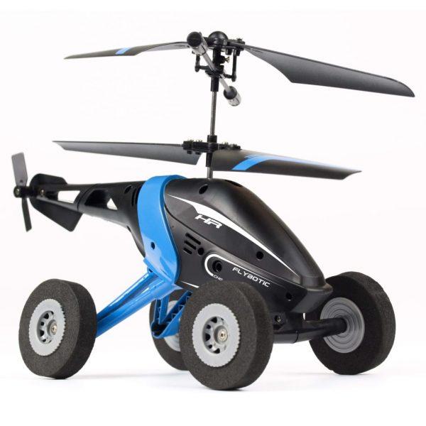 Silverlit Helikopter radiografisch bestuurbaar Air Wheelz blauw