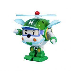 Silverlit Transformerend speelgoed Robocar Poli Helly groen SL83169