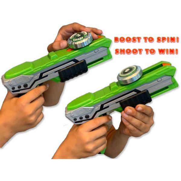 Silverlit Spinner Mad single shot blaster Thunder groen