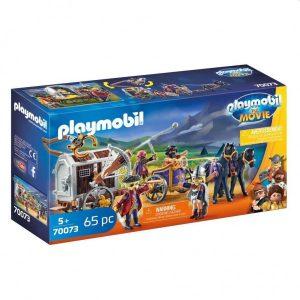 70073 Playmobil Movie Charlie met Gevangeniswagon