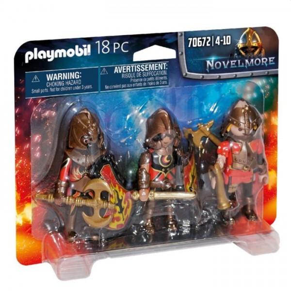 70672 Playmobil Novelmore Set Van 3 Burnham Raiders