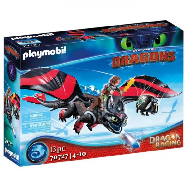 70727 Playmobil Dragon Racing: Hikkie En Tandloos