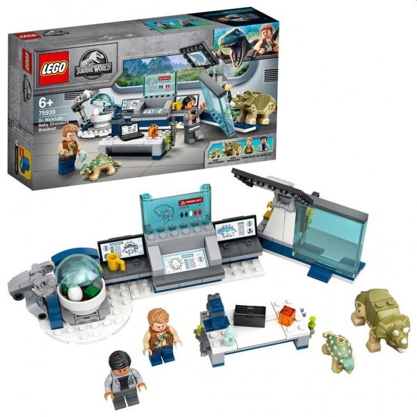 75939 Lego Jurassic World Dr. Wu's Lab: Ontsnapping van de Babydino's