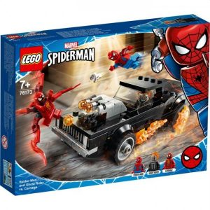 76173 Lego Super Heroes Spiderman en Ghostrider vs Carnage