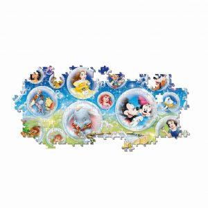 Clementoni Panorama Puzzel Disney 1000 Stukjes