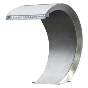 Ubbink Mamba waterval met LED-verlichting roestvrij staal