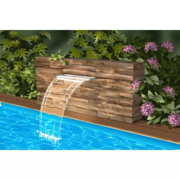 Ubbink Waterval Niagara LED 60 cm transparant 7504609