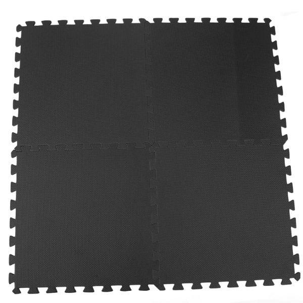 Pool Improve Zwembadbodembeschermer 8 st 50x50 cm zwart