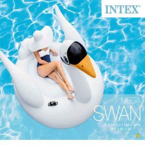 Intex Luchtbed Mega Swan Island 56287EU