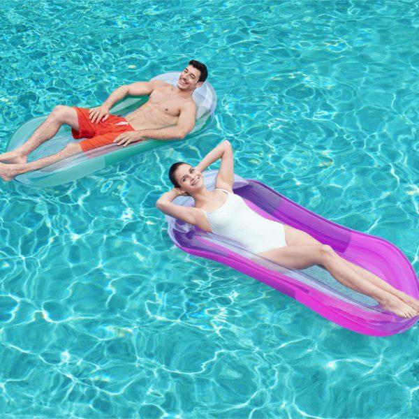 Bestway Zwembadlounger opblaasbaar Aqua Lounge