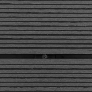 vidaXL Buitendouche met bak HKC roestvrij staal