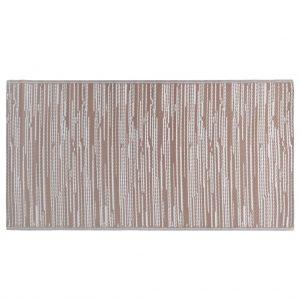 vidaXL Buitenkleed 120x180 cm PP bruin