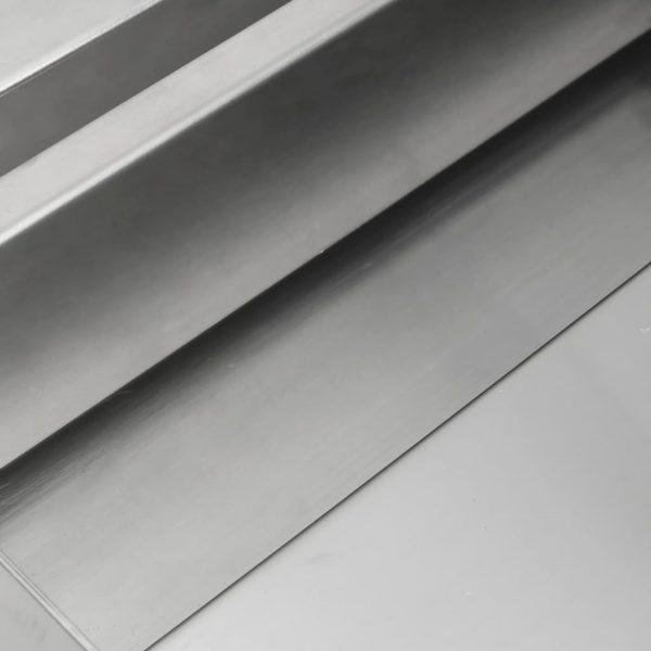 vidaXL Waterval 30x34x14 cm roestvrij staal 304