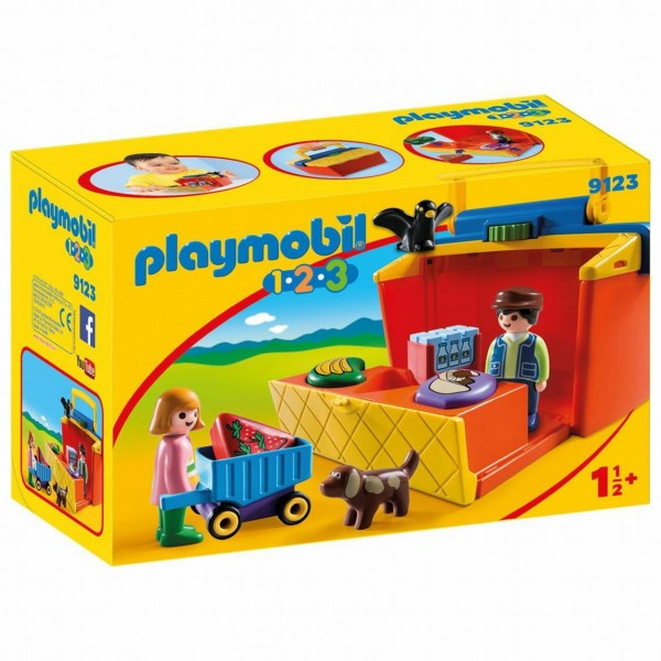 9123 Playmobil 123 Marktkraam