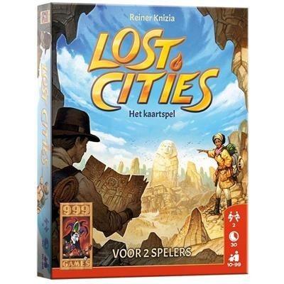 999-games Spel Lost Cities Het Kaartspel
