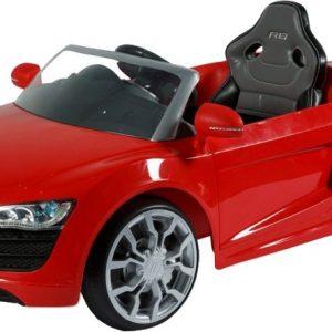 Rollplay Audi R8 Spyder EZ Drive accuvoertuig 6 Volt rood