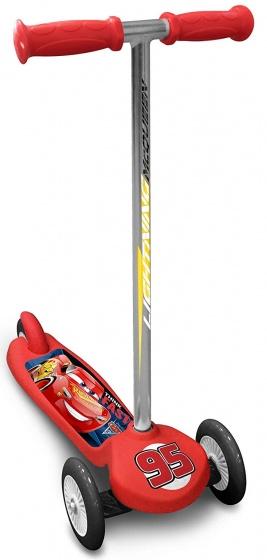 Disney Cars 3 3-wiel kinderstep Junior Voetrem Rood