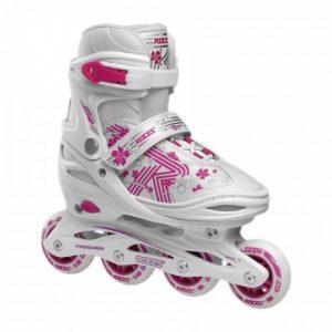 Roces Inline skates Roces Girls Jokey 3.0 wit/roze