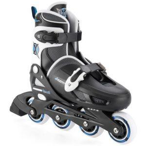 Xootz Inlineskates Quad zwart/blauw junior