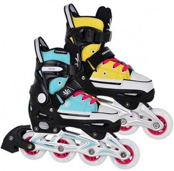 Tempish Magic Rebel Inline Skates junior blauw/geel