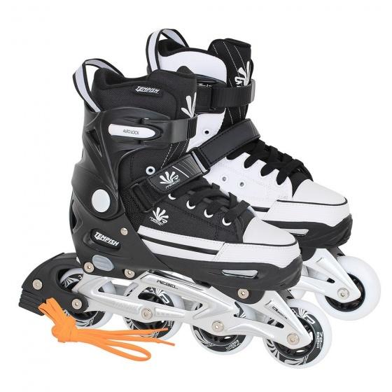 Tempish Magic Rebel Inline Skates junior zwart/wit