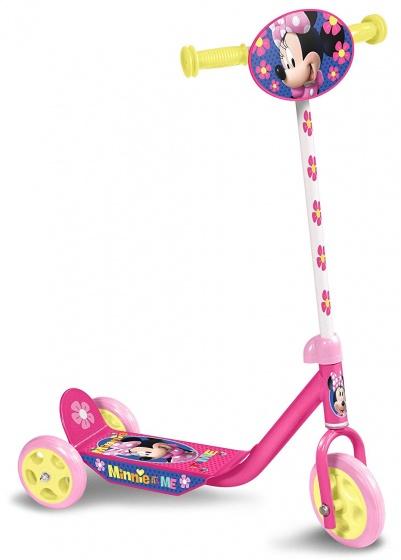Disney Minnie Mouse 3-wiel kinderstep Meisjes Voetrem Roze/Geel