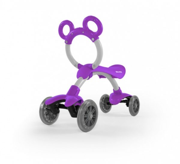 Milly Mally Orion Flash loopfiets Junior Paars