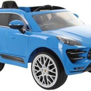Rollplay Porsche Macan Turbo accuvoertuig junior 12V blauw