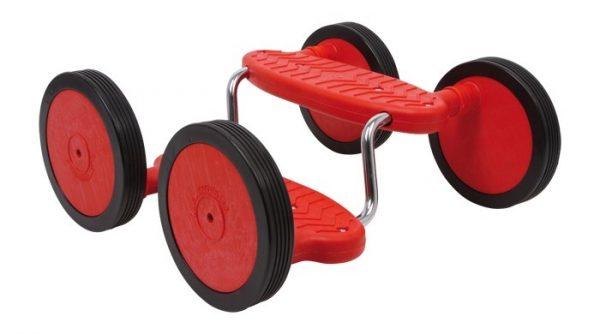 Small Foot Rotini Rode Kar 38 X 34 X 16 cm