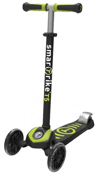 smarTrike Scooter T5 step Junior Zwart/Groen