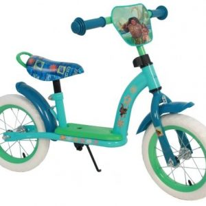 Disney Vaiana Loopfiets-u 12 Inch Meisjes Groen