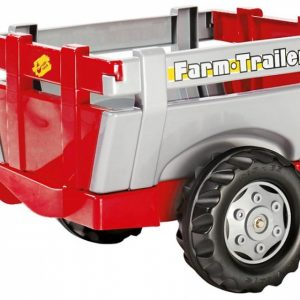 Rolly Toys aanhanger RollyFarm junior rood/zilver
