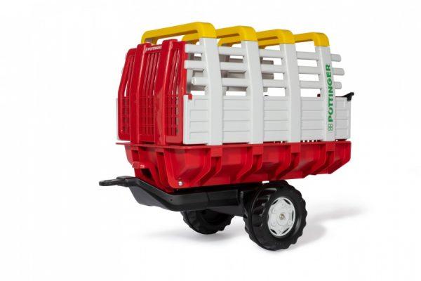 Rolly Toys aanhanger RollyHay Pöttinger 83 cm rood/wit