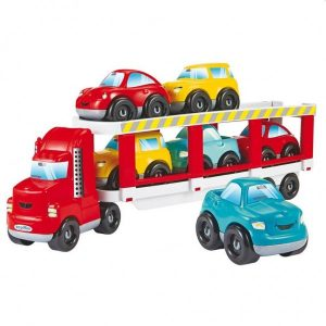 Abrick Autotransporter met 6 Auto's