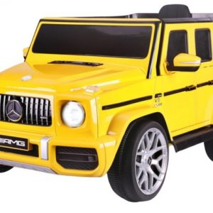 JAMARA accuvoertuig Mercedes-AMG G63 12 V 106 cm geel