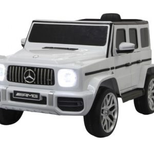 Jamara accuvoertuig Mercedes-AMG G63 12 V 106 cm zilver