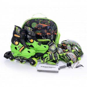 Tempish baby skate set racer groen