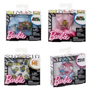 Barbie Fashion Tops - Licensed