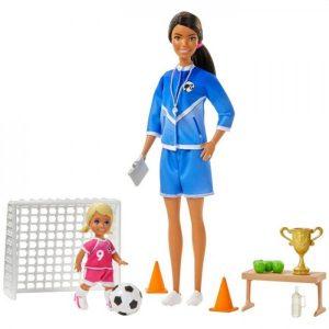 Barbie Soccer Coach