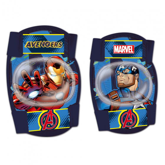Disney beschermset Avengers junior foam blauw 4-delig