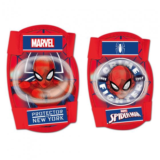 Disney beschermset Spider-Man junior foam rood 4-delig