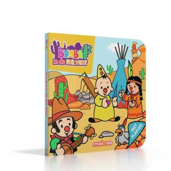 Bumba Kartonboek - Bumba in de Far West