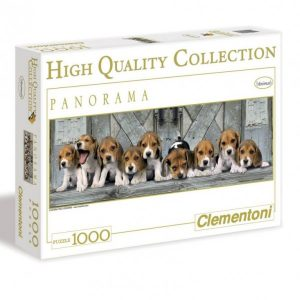 Clementoni Puzzel Beagles Panorama (1000)
