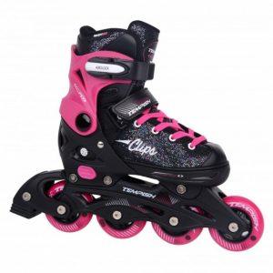 Tempish clips skates zwart/roze